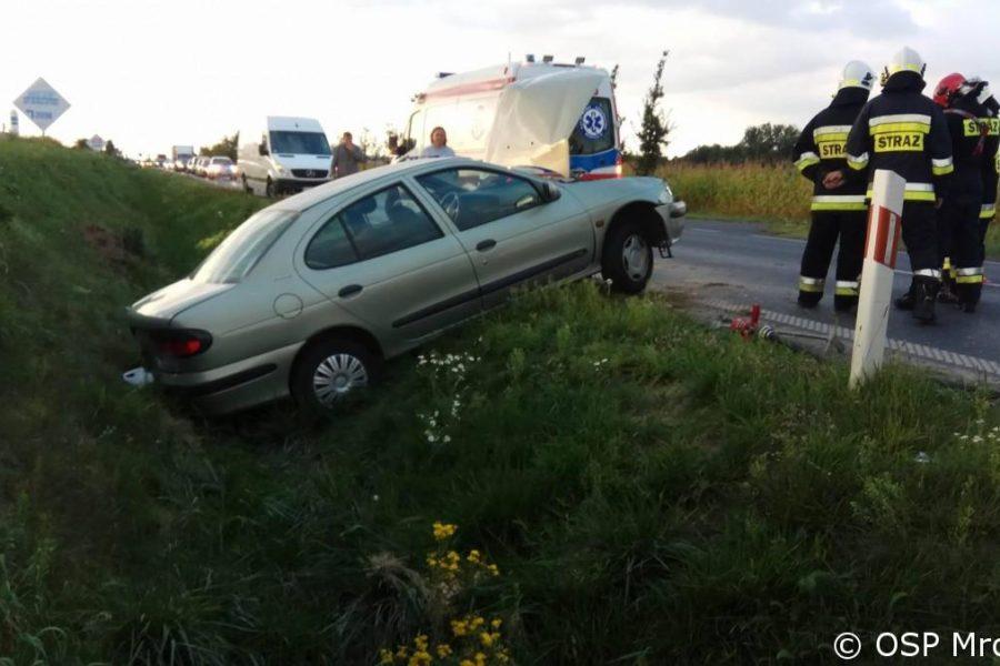 Kolejny wypadek na trasie Mrowino- Napachanie
