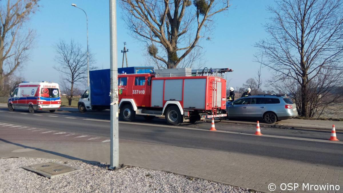 Wypadek ul. Szamotulska – Cerekwica
