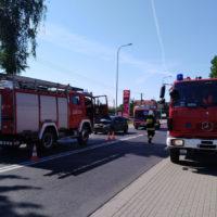 Kolizja w Cerekwicy – 15.07.18 r.
