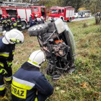 Wypadek - Mrowino ul. Dworcowa