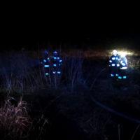 Pożar trawy w Cerekwicy