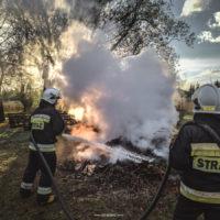 Pożar gałęzi - 12 maja 2019 r.