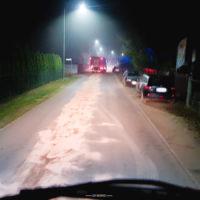 Plama oleju w Cerekwicy