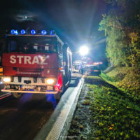 Kolizja drogowa w Cerekwicy