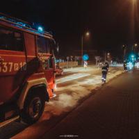 Plama oleju na ul. Poznańskiej