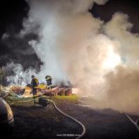 Pożar - Rokietnica - 25.04.20 r.