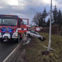 Wypadek w Cerekwicy - 19.02.2021 r.
